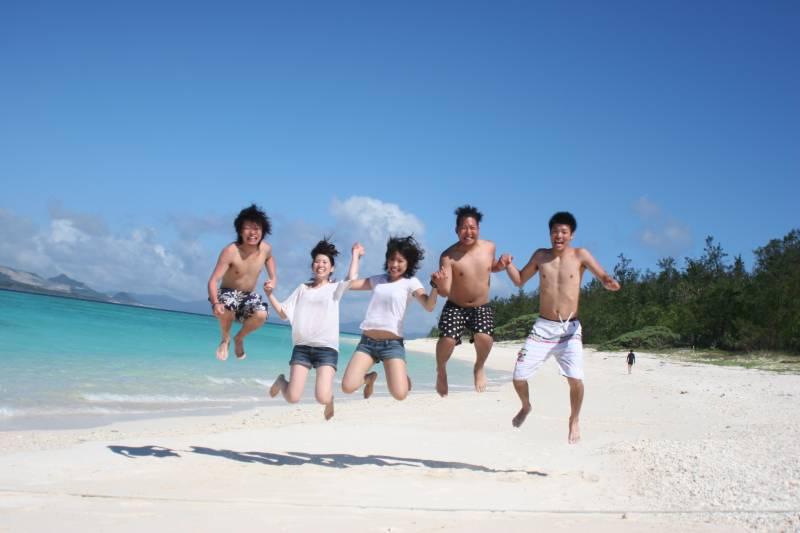 【夏季】みんな島海水浴プラン