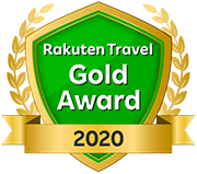 Rakuten travel Gold Award